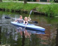 Kano varen in Friesland